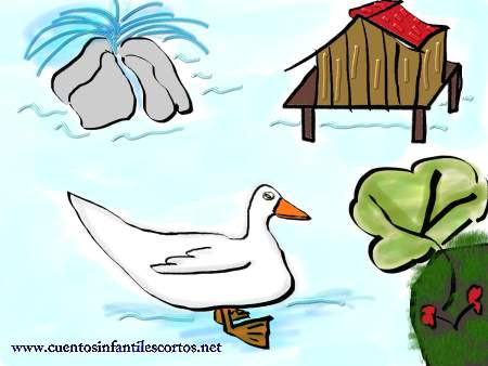 Children´s stories - the ducks in the lake