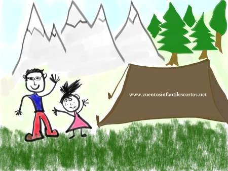 Childrens stories - The little boy and the forest