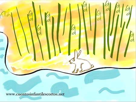 Childrens stories - the rabbit and bamboo island