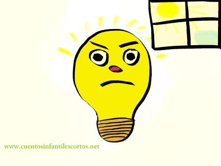 Childrens stories - the grouchy lightbulb