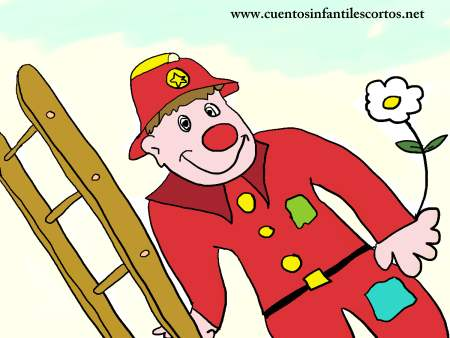 Short stories - Cuthbert the fireman clown