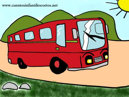 Short stories - The helpful bus