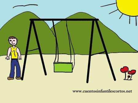 Short stories - the childrens swing