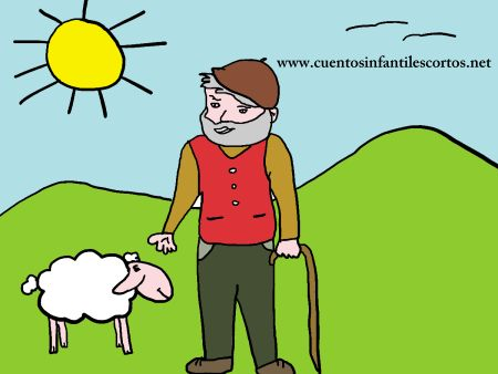 Short stories - the little shepherd and his sheep