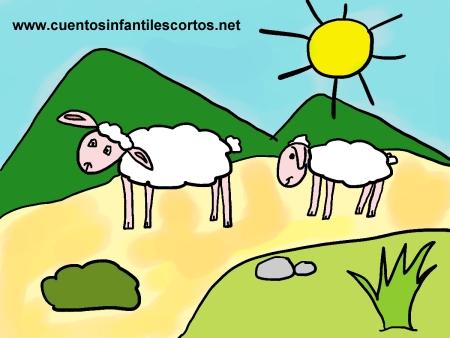 Short stories - The little village sheep