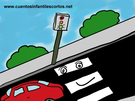 Short stories - The traffic light and the zebra crossing
