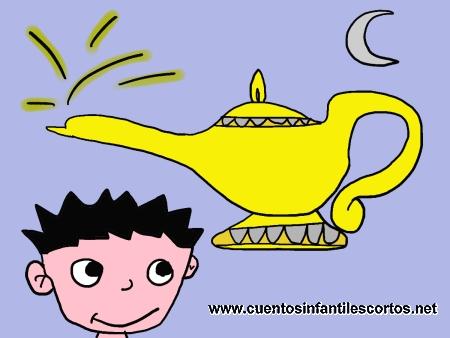 Short stories - the magic lamp