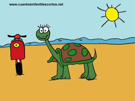 Short stories - the turtle and the moped