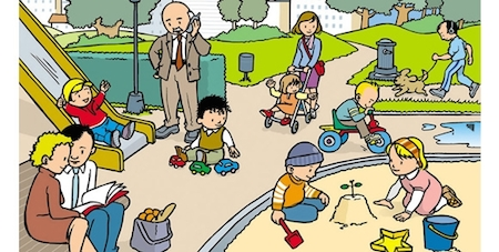 short-stories-park-children
