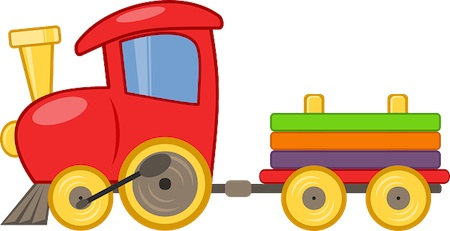 short story for kids train