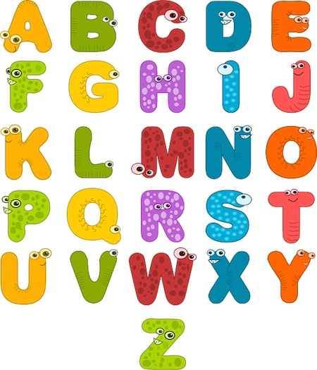 Educational Stories alphabet