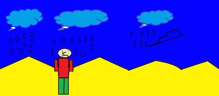 storm child rain short story